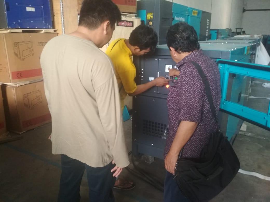 SPBU, gresik, Waifang 30 kVA